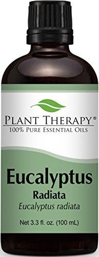 Eucalyptus Radiata Essential Oil. 100 ml (3.3 oz) 100% Pure, Undiluted, Therapeutic Grade.