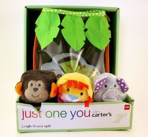 Just One You - Jungle Fill and Spill - Numbered Animal Cube Grab Bag - 1