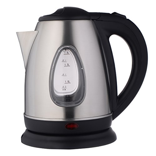 Giantex 1500W 1.8 Liter Electric Kettle Tea Hot Water Boiler Heater Stainless Steel (Small Boiler Heater compare prices)