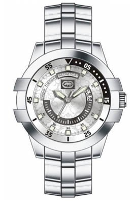 Marc Ecko The E-Go Mens Watch E13592G2 with Silver Dial and Stainless Steel Bracelet