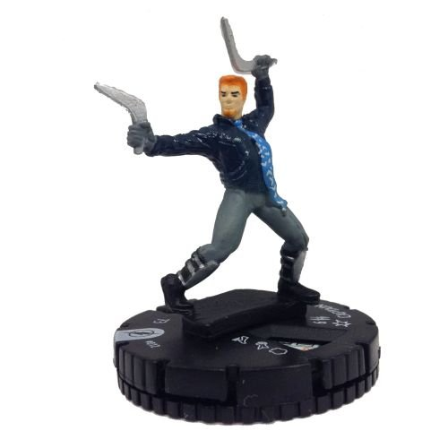 Heroclix DC The Flash #012 Captain Boomerang Figure Complete with Card - 1