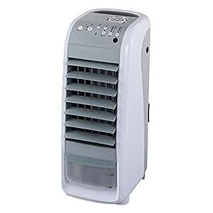 2in1クール冷風扇&セラミックヒーター TU-820 ホワイト W28xD31xH68cm