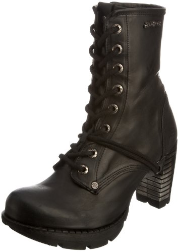 New Rock Women's M.TR001-S1 Platform Boot Itali Black 6 UK