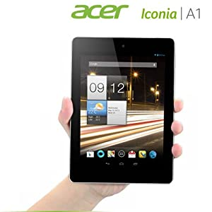Acer Iconia A1-810 16GB Quad Core 7.9-inch XGA Multi-Touch Display Dual HD Cam WiFi Bluetooth 4.0 Micro USB 2.0 Micro HDMI Android 4.1 Jelly Bean (Ivory Gold)