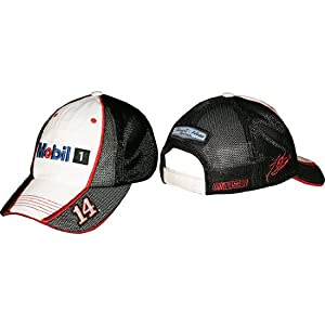 #14 Tony Stewart Mobil 1 Mens Tri Oval Team Hat -28314 by Brickels