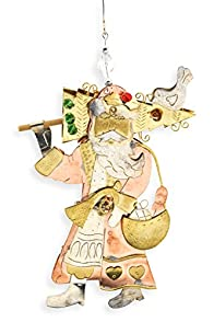 Pilgrim Imports Old World Santa Fair Trade Christmas Ornament