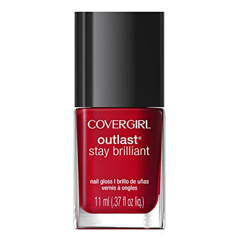 COVERGIRL-Outlast-Stay-Brilliant-Nail-Gloss-Red-Dy-And-Willing-100-037-Fluid-Ounce