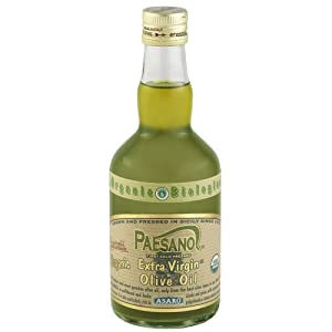 Paesano USDA Organic Unfiltered Extra Virgin Olive Oil - 17oz. Bottle by Paesano