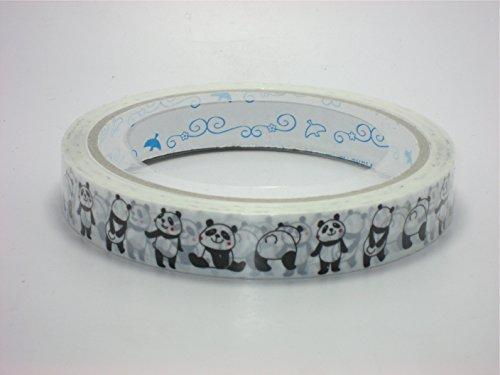 Adhesive Tape Cute Furifuri Panda - 1