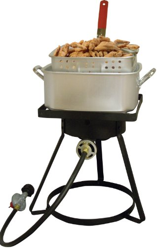 King Kooker 2616 16 Inch Bolt Together Outdoor Propane