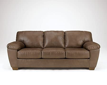 Contemporary Walnut Brown Living Room Sofa