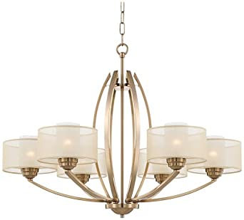 euro alecia 34 wide french gold chandelier possini euro design. Black Bedroom Furniture Sets. Home Design Ideas