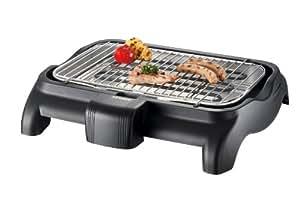 Severin - 9320 - Barbecue de table - 2300 W - grille chromée - noir