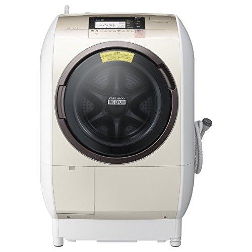 日立 [左開き] ドラム式洗濯乾燥機 (洗濯11.0kg/乾燥6.0kg) BD-V9800L-N シャンパン 【ヒーター乾燥機能付】【日本製】
