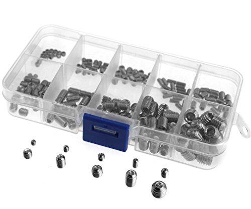 200-x-stainless-steel-hex-grub-screws-socket-hex-cup-set-m3-m4-m5-m6