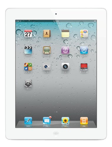Apple iPad 2 2nd generation Tablet, 1 GHz processor, 16GB, Wifi (White) (885909471812)