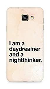 AMEZ daydreamer and night thinker Back Cover For Samsung Galaxy A7 (2016 EDITION)