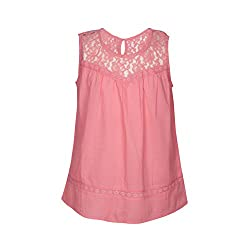 Gini & Jony Baby Girls' Blouse Top (122030181817 C505_Azalea Pink_18M)