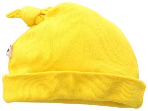 Babysoy Unisex-Baby Newborn O Soy Hat, Sunshine, 0-6 Months front-641508