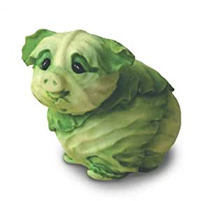Home Grown from Enesco Cabbage Piglet Figurine 3 IN