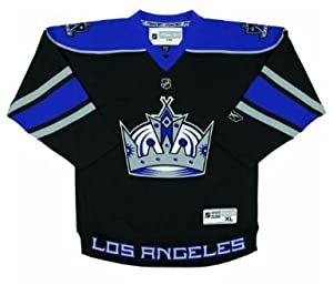 Los Angeles Kings NHL Hockey Youth Jersey Black/Purple (Youth L/XL)