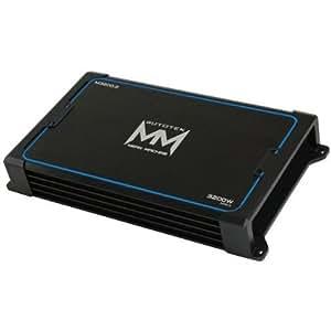 Autotek M3200.2 2 Channel 3200 Watt Maxx Amplifier