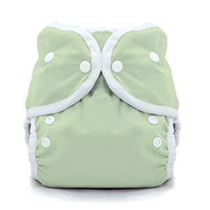 Thirsties Duo Wrap Snap Diaper Cover, Celery, Size 1
