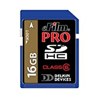 Delkin Secure Digital (SD) PRO Class 10 163X Memory Card by Delkin