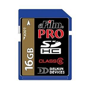 Delkin Secure Digital (SD) PRO Class 10 163X Memory Card by Delkin