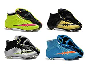 High Ankle Football Boots cheap zapatos de futbol: Sports & Outdoors