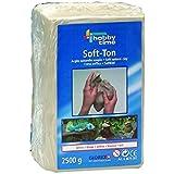Soft-Ton weiss 2500g lufthärtend / brennbar 1040°C
