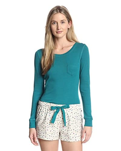 Jane & Bleecker Women's Boxer PJ Set