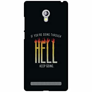 Asus Zenfone 6 A601CG Back Cover - Hell Designer Cases
