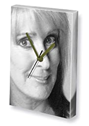 BEVERLEY CALLARD - Canvas Clock (LARGE A3 - Signed by the Artist) #js001