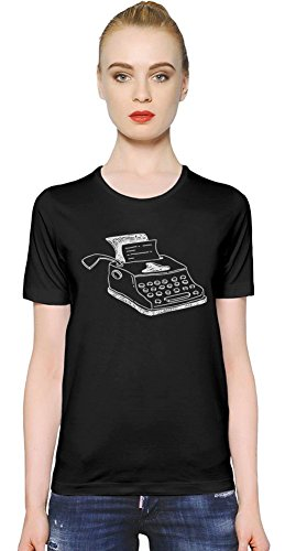 Doodle typewriter Womens T-shirt Small