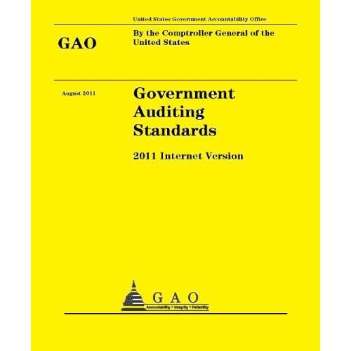 Standards - 2011 Version: Comptroller General United States Government