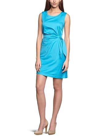 MEXX Damen Kleid (knielang) N1CSD014, Gr. 44 (XXL), Blau (447)
