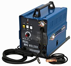 Dual Mig Welder 110 Amp 220v from Chicago Electric