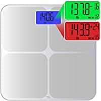 Smart Weigh Digital Body Weight Scale (Silver)