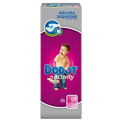 Activity Dodot-Pannolini taglia: 5 kg (13-18, 3 x 44: 132 pezzi