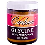 Carlson Labs Glycine Powder, 100g ~ Carlson