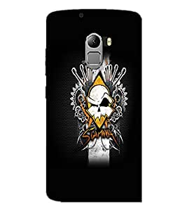 PrintDhaba Abstract Design D-5604 Back Case Cover for LENOVO VIBE K4 NOTE (Multi-Coloured)