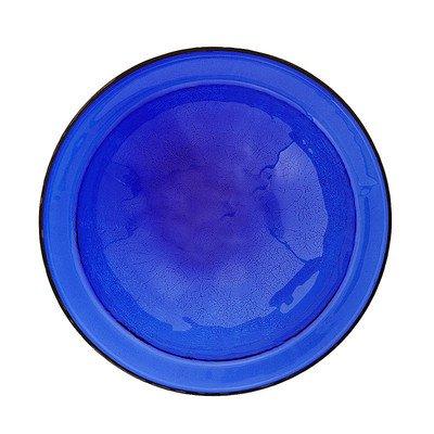 Achla Designs Crackle Bowl, Cobalt Blue