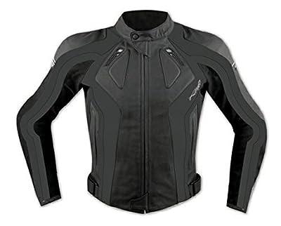 A-PRO - Blouson Cuir et Tissu Stretch Moto pour femme.