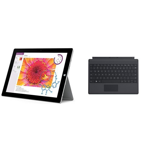Check Out This Microsoft Surface 3 Tablet (10.8-Inch, 128 GB, Intel Atom) with Type Cover, Black