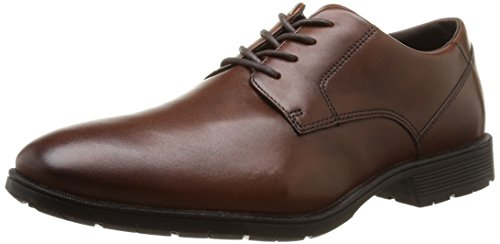 rockport-tmps-plain-toe-richelieu-homme-marron-chili-45-eu