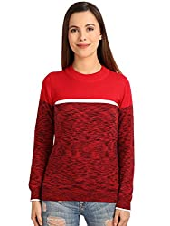 Manola Red Color-Blocked Top