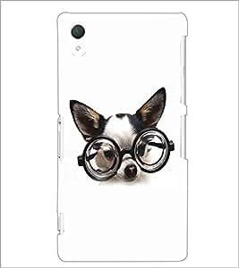 PRINTSWAG CUTE DOG Designer Back Cover Case for SONY XPERIA Z2