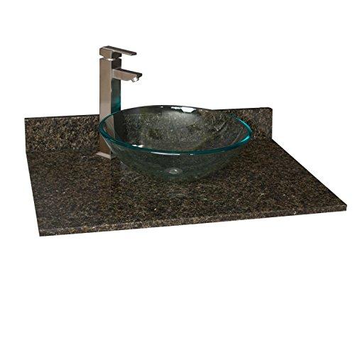 31 X 22 Granite Vanity Top For Vessel Sink No Faucet Holes Uba Tuba Review Euphrosynzxliyeva