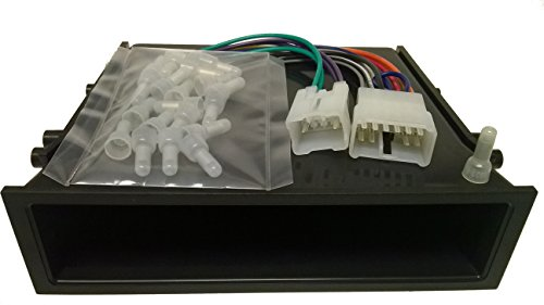Single din car radio Installation package for installing a new radio into a Toyota 4Runner (89-95) - Pickup (1989-1994), T-100 pickup (93-98), Tacoma (1995-1998) (89 Toyota Pickup Antennas compare prices)